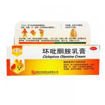 環安環吡酮胺乳膏0.01