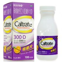 鈣爾奇D碳酸鈣D3咀嚼片100片