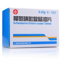 信誼柳氮磺吡啶腸溶片60片