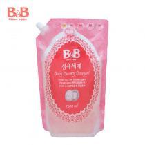 韩国保宁B&B婴幼儿洗衣液袋装 1300ml
